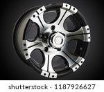 alloy wheel or rim of car   Shutterstock . vector #1187926627