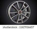 alloy wheel or rim of car   Shutterstock . vector #1187926657