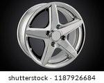 alloy wheel or rim of car   Shutterstock . vector #1187926684