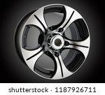 alloy wheel or rim of car   Shutterstock . vector #1187926711
