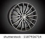alloy wheel or rim of car   Shutterstock . vector #1187926714