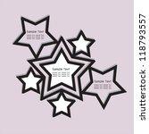 stars background | Shutterstock .eps vector #118793557
