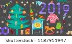 group of little people... | Shutterstock .eps vector #1187951947