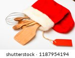kitchen accessories or kit of...   Shutterstock . vector #1187954194