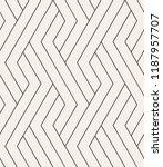 vector seamless pattern. modern ... | Shutterstock .eps vector #1187957707