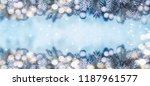 christmas holidays background... | Shutterstock . vector #1187961577