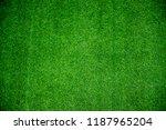 green fake grassy turf | Shutterstock . vector #1187965204