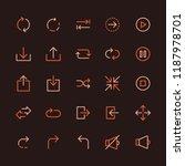 basic interface multicolored...