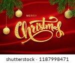 christmas design vector...   Shutterstock .eps vector #1187998471