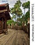 monastery at mandalay  burma | Shutterstock . vector #1187999911