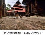 monastery at mandalay  burma | Shutterstock . vector #1187999917