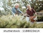 funny joke. happy blonde... | Shutterstock . vector #1188023614