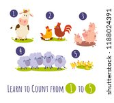 Funny Farm Animals. Learn To...
