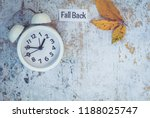 fall back daylight saving time... | Shutterstock . vector #1188025747