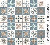 seamless ceramic tile. gorgeous ... | Shutterstock .eps vector #1188033541