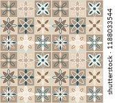 seamless ceramic tile. gorgeous ... | Shutterstock .eps vector #1188033544