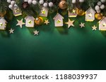 christmas holiday background | Shutterstock . vector #1188039937