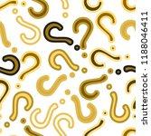 quiz seamless pattern. question ...   Shutterstock .eps vector #1188046411