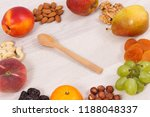 healthy nutritious food as... | Shutterstock . vector #1188048337