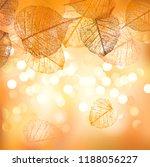 festive background and frame of ... | Shutterstock .eps vector #1188056227