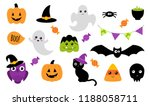 halloween stickers. ghost ...