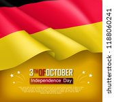 germany independence day... | Shutterstock .eps vector #1188060241