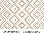 watercolor geometrical pattern... | Shutterstock . vector #1188080047