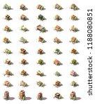 vector isometric shop ... | Shutterstock .eps vector #1188080851