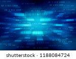 2d illustration abstract... | Shutterstock . vector #1188084724