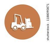 warehouse loader icon in badge...