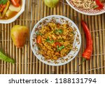 ching's schezwan fried rice... | Shutterstock . vector #1188131794