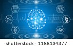 abstract background technology... | Shutterstock .eps vector #1188134377