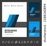 vector background brochure... | Shutterstock .eps vector #1188160894