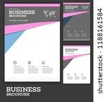 vector background brochure... | Shutterstock .eps vector #1188161584