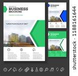 vector background brochure... | Shutterstock .eps vector #1188161644