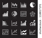 business infographic icons  ... | Shutterstock .eps vector #118817191