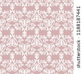 classic seamless vector pattern.... | Shutterstock .eps vector #1188187441