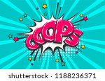 omg ouch oops comic text speech ...   Shutterstock .eps vector #1188236371