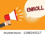 Writing Note Showing Enroll....