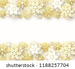 vector merry christmas and... | Shutterstock .eps vector #1188257704