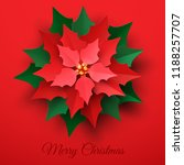 Vector Red Christmas Poinsettia ...