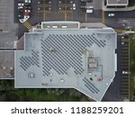 Aerial Drone Image Of A Roofto...