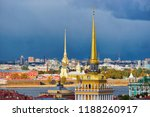 panoramic view with spire of... | Shutterstock . vector #1188260917