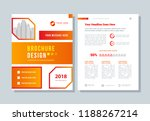 business brochure  annual... | Shutterstock .eps vector #1188267214