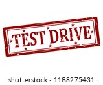 rubber stamp with text test... | Shutterstock .eps vector #1188275431