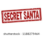rubber stamp with text secret... | Shutterstock .eps vector #1188275464