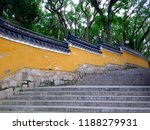 Peaceful Fayu Temple Stairs And ...