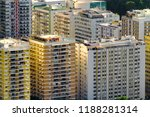 aerial view of residential...   Shutterstock . vector #1188281314