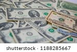 a lot of dollars money | Shutterstock . vector #1188285667