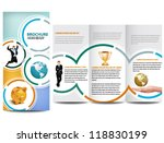 circle brochure design | Shutterstock .eps vector #118830199